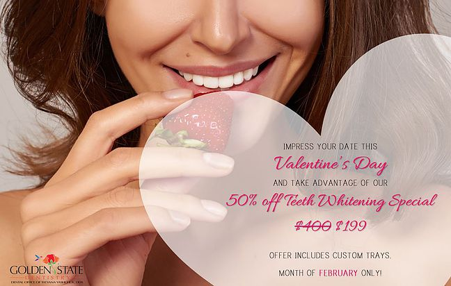 Our Valentine's Day Teeth Whitening Special